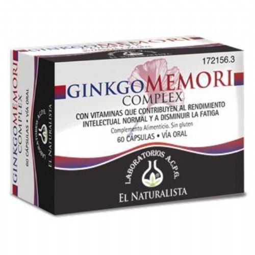 GINKGOMEMORI COMPLEX EL NATURALISTA (60 CAPS)