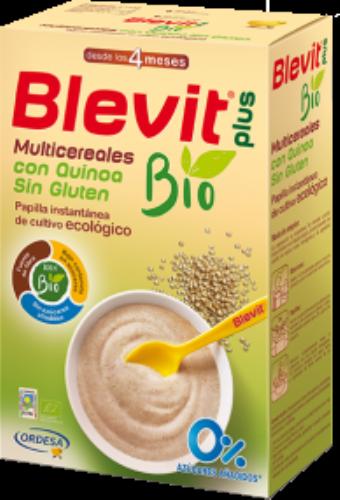 Blevit plus multicereales con quinoa sin gluten bio (250 g)