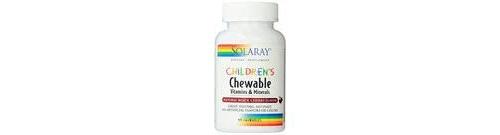 Solaray children's chewable 60 com