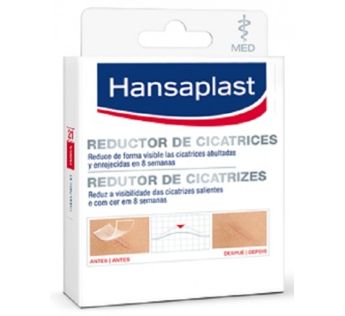 Hansaplast reductor de cicatrices (68 x 38 mm 21 u)