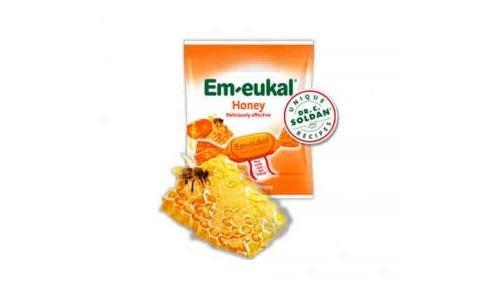 CARAMELOS BALSAMICO EM-EUKAL MIEL 50 G