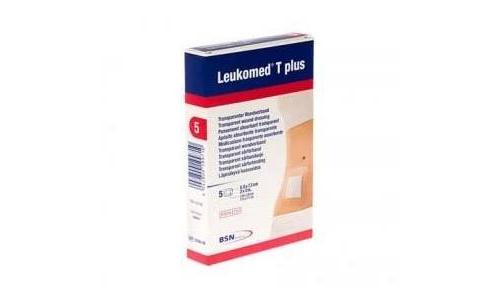 Leukomed t plus - aposito esteril adh (5 x 7.2 cm 5 apositos)