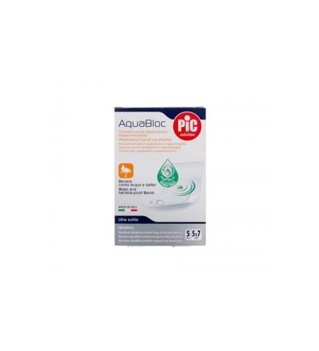 PIC AQUABLOC POST OP ANTIBACTERIANO - APOSITO ESTERIL (5 X 7 CM 5 APOSITOS)