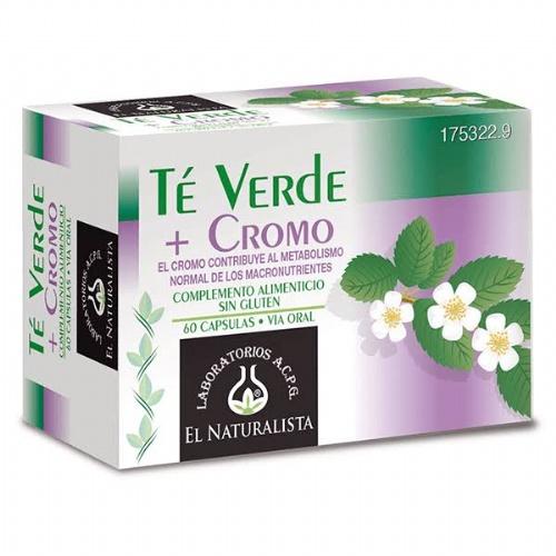 Te verde + cromo el naturalista (60 capsulas)