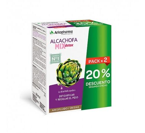 ARKOFLUIDO ALCACHOFA MIX DETOX - 2