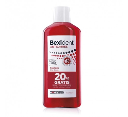 Bexident anticaries colutorio (500 ml)