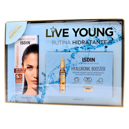Pack photoaging fusion water + hyaluronic ampollas