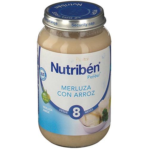 NUTRIBEN MERLUZA CON ARROZ (POTITO GRANDOTE 250 G)