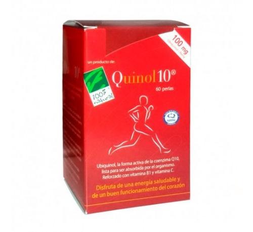 Quinol 10 (100 mg 60 capsulas)