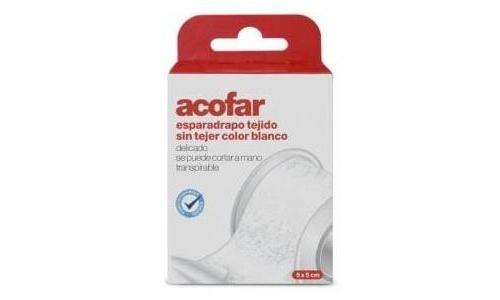 Esparadrapo - acofar (tejido sin tejer blanco 5 x 5 cm)