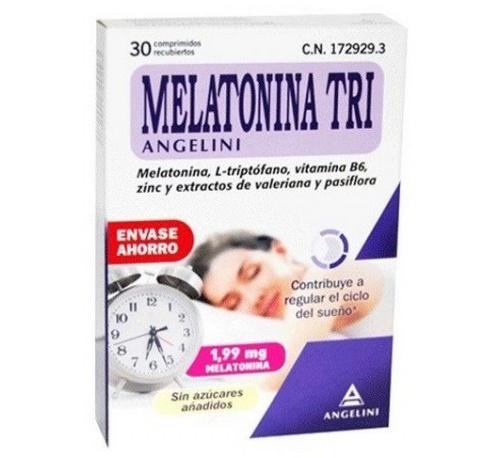 Melatonina tri (1.99 mg 30 comprimidos)
