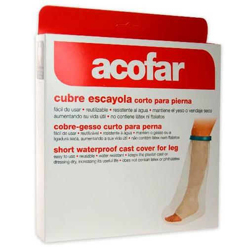 Cubre escayola - acofar (corto para pierna)