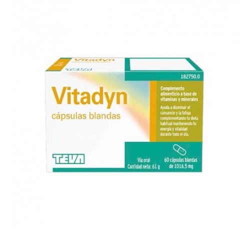 Vitadyn (60 capsulas blandas)