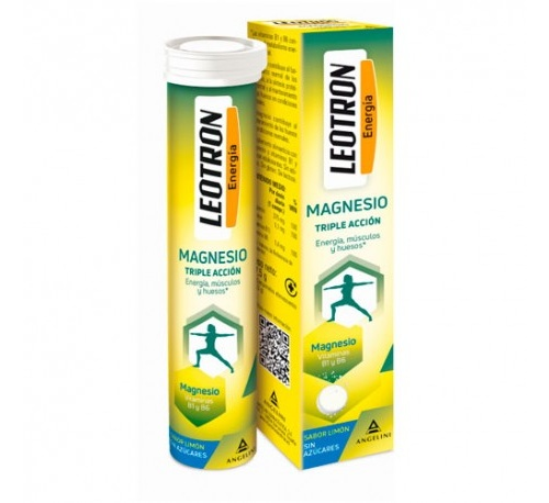 Leotron magnesio (15 comprimidos efervescentes)