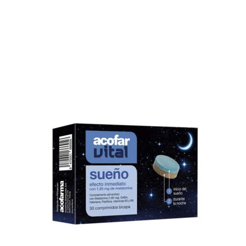 Acofarvital sueño (30 comprimidos)