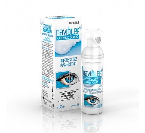 Naviblef cuidado diario (espuma 50 ml)