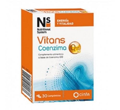 Ns vitans coenzima q10 (30 comprimidos)