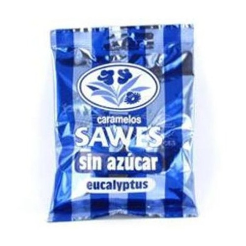 SAWES CARAMELOS BOLSA SIN AZUCAR (EUCALIPTUS FORT 50 G)