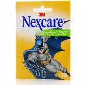 3m nexcare comfort - aposito adhesivo (360º batman 10 tiras)
