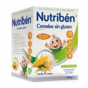 NUTRIBEN CEREALES SIN GLUTEN PAPILLA (600 G)