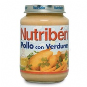 NUTRIBEN POLLO CON VERDURAS (POTITO JUNIOR 200 G)