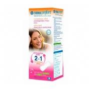 Compresas higienicas femeninas - farmaconfort 2 en 1 protegeslips (maxi plus 24 u)