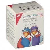 OPTICLUDE - PARCHES OCULARES (IMP MINI 6 CM X 5 CM 30 U)