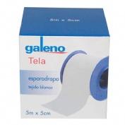 ESPARADRAPO - GALENO (TELA BLANCO 5 M X 5 CM)