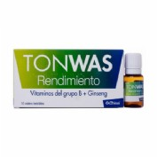 Tonwas (10 viales bebibles)