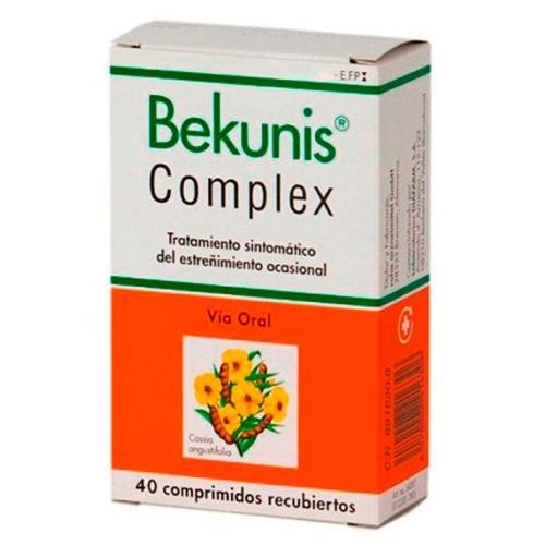 BEKUNIS COMPLEX COMPRIMIDOS RECUBIERTOS, 40 comprimidos