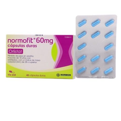 NORMOFIT 60 MG CAPSULAS DURAS, 42 cápsulas