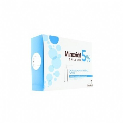 MINOXIDIL ISDIN 50 mg/ml SOLUCION CUTANEA , 1 frasco de 60 ml