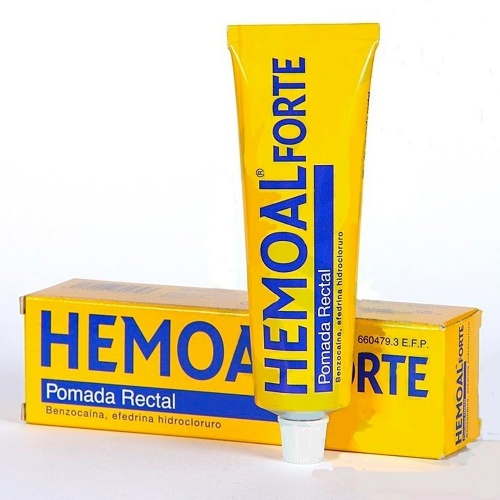 HEMOAL FORTE POMADA RECTAL, 1 tubo de 50 g