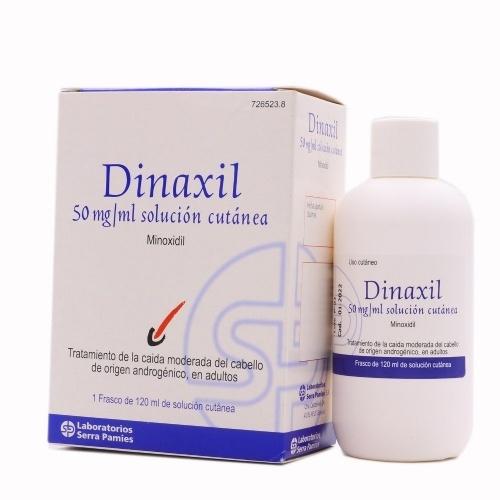 DINAXIL 50 MG/ML SOLUCION CUTANEA, 1 frasco de 120 ml
