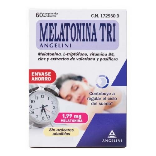 Melatonina tri (1.99 mg 60 comprimidos)