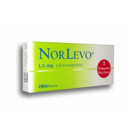 NORLEVO 1500 microgramos comprimido 1
