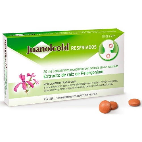 JUANOLCOLD RESFRIADOS, 30 comprimidos