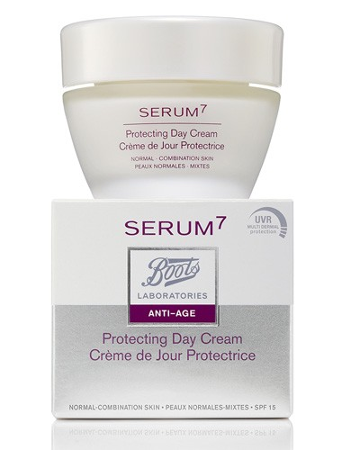 BOOTS LABORATORIES SERUM7 ANTIAGE - CREMA DE DIA PROTECTORA P NORMAL PFS 15 (50 ML)