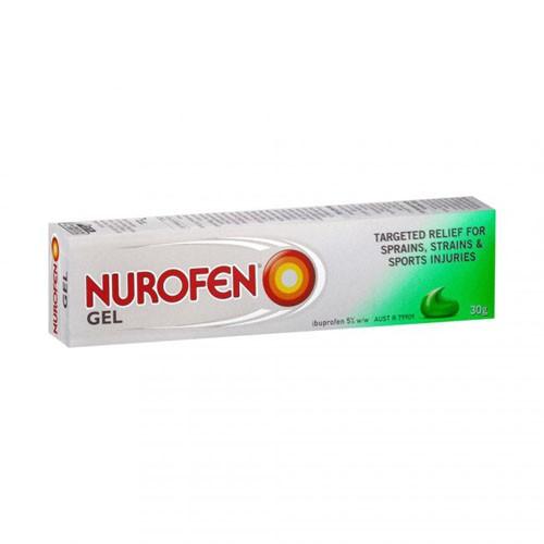 NUROFEN 50 mg/g  GEL, 1 tubo de 60 g