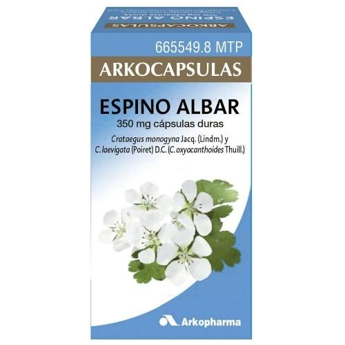 ESPINO ALBAR ARKOPHARMA cápsulas duras , 48 cápsulas