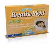 BREATHE RIGHT RESPIRA MEJOR - TIRA ADH NASAL (NIÑOS 10 U)