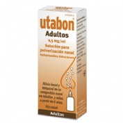 UTABON ADULTOS 0,5 mg/ml SOLUCION PARA PULVERIZACION NASAL, 1 frasco de 15 ml