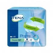 ABSORB INC ORINA LIGERA - TENA PANTS SUPER (T- MED 12 U)