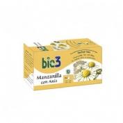 Bio3 manzanilla ecologica (25 filtros 1,5 g)