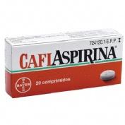CAFIASPIRINA 500 mg/50 mg COMPRIMIDOS , 20 comprimidos