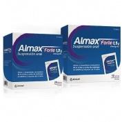 ALMAX FORTE 1,5 g SUSPENSION ORAL , 500 sobres