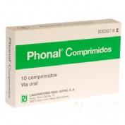 PHONAL COMPRIMIDOS , 10 comprimidos