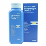 ZINCATION PLUS 10 mg/4 mg/ml CHAMPU , 1 frasco de 500 ml